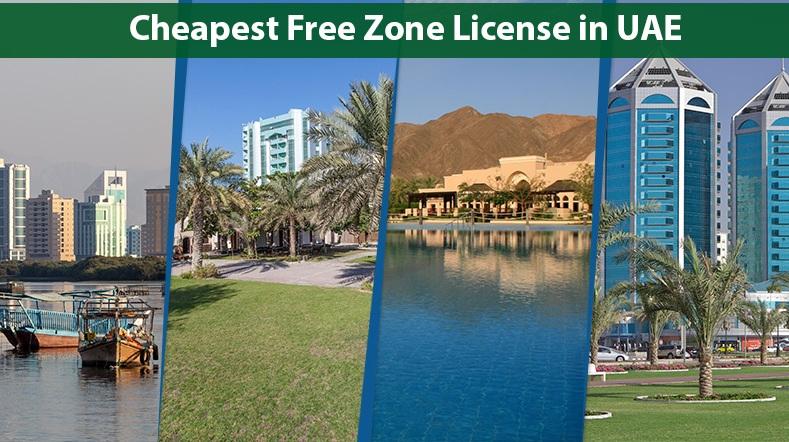 Cheapest free zone license in UAE | Cheapest freezone